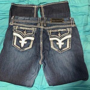 Womens Rock Revival Jeans 34